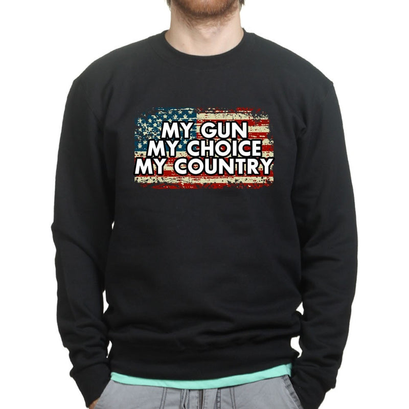 My Gun My Choice Sweatshirt