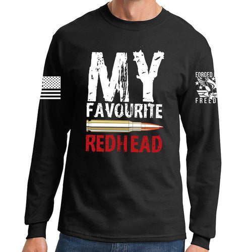 My Favorite Redhead Long Sleeve T-shirt