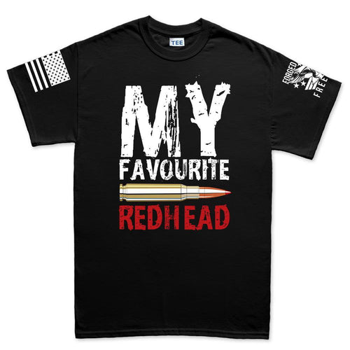 My Favorite Redhead Men's T-shirt