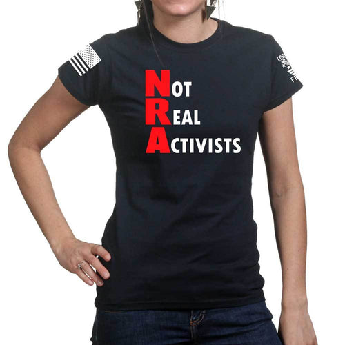 Not Real Activists Ladies T-shirt