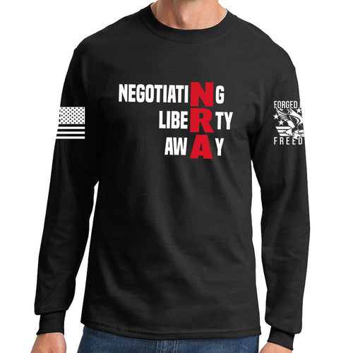 Negotiating Liberty Away Long Sleeve T-shirt