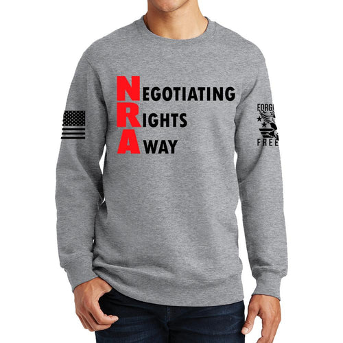 Negotiating Rights Away Sweatshirt