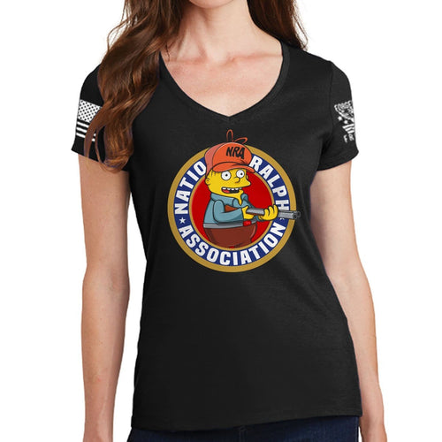 Ladies National Ralph Association V-Neck T-shirt