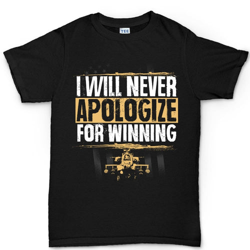 Men's Never Apologize For Winning T-shirt
