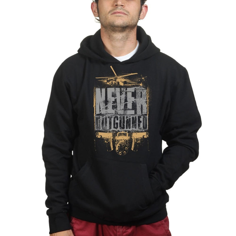 Unisex Never Outgunned Hoodie