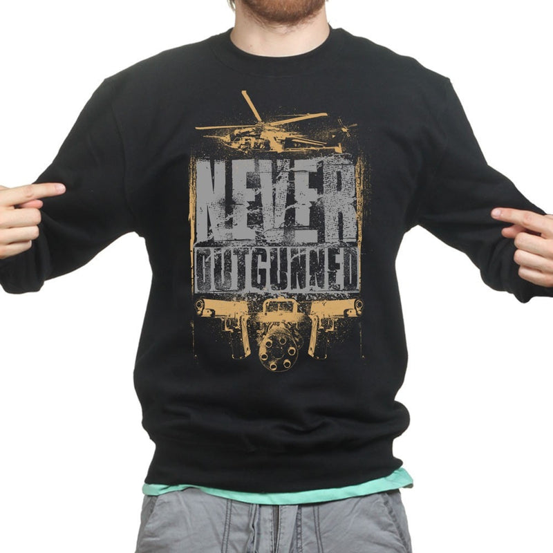 Unisex Never Outgunned Sweatshirt