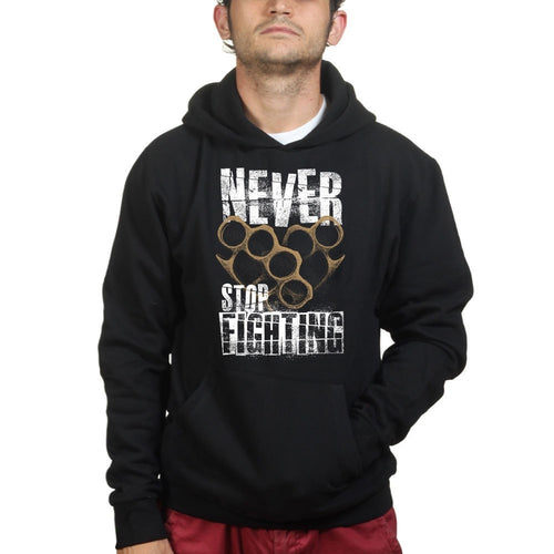 Unisex Never Stop Fighting Hoodie