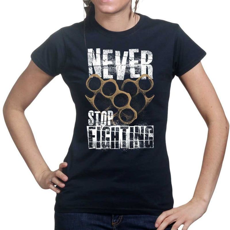 Ladies Never Stop Fighting T-shirt