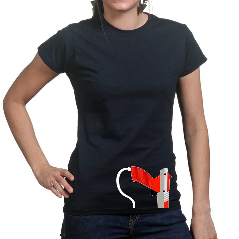 Ladies Gaming Gun T-shirt