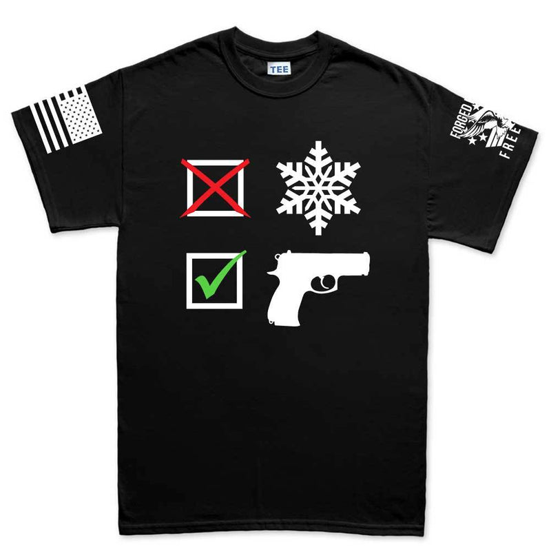 No Snowflakes Mens T-shirt