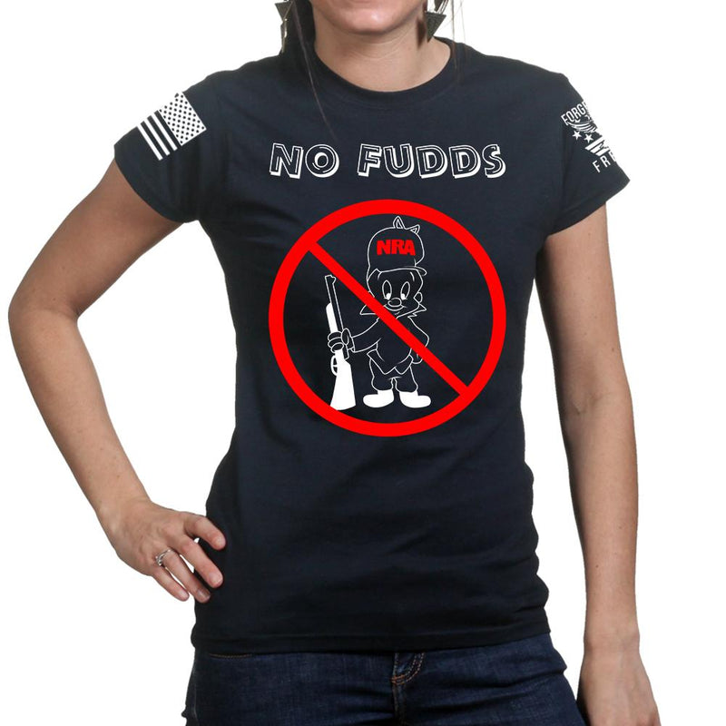 No Fudds Ladies T-shirt