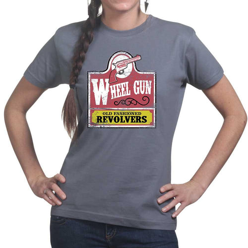 Ladies Old Fashioned Revolvers T-shirt