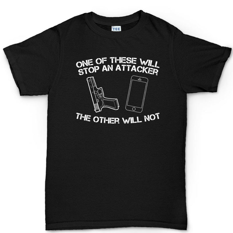 How To Stop An Attacker Men's T-shirt