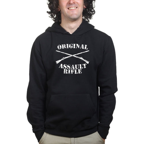 Original Assault Rifle Mens Hoodie