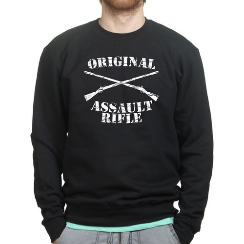 Original Assault Rifle Mens Sweatshirt
