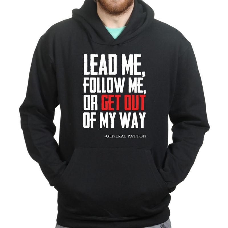 Get Out Of My Way (General Patton) Hoodie