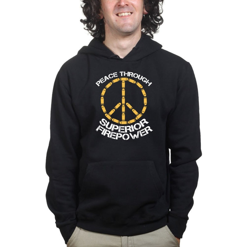 Peace Through Firepower Hoodie