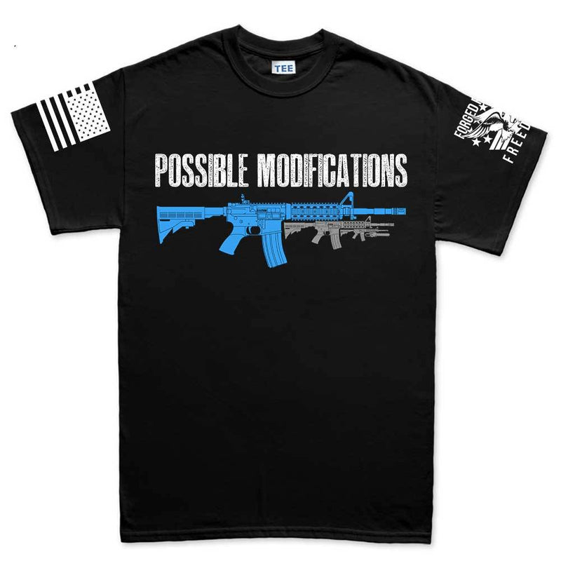 Possible Modification AR15 Baby Chainsaw Men's T-shirt