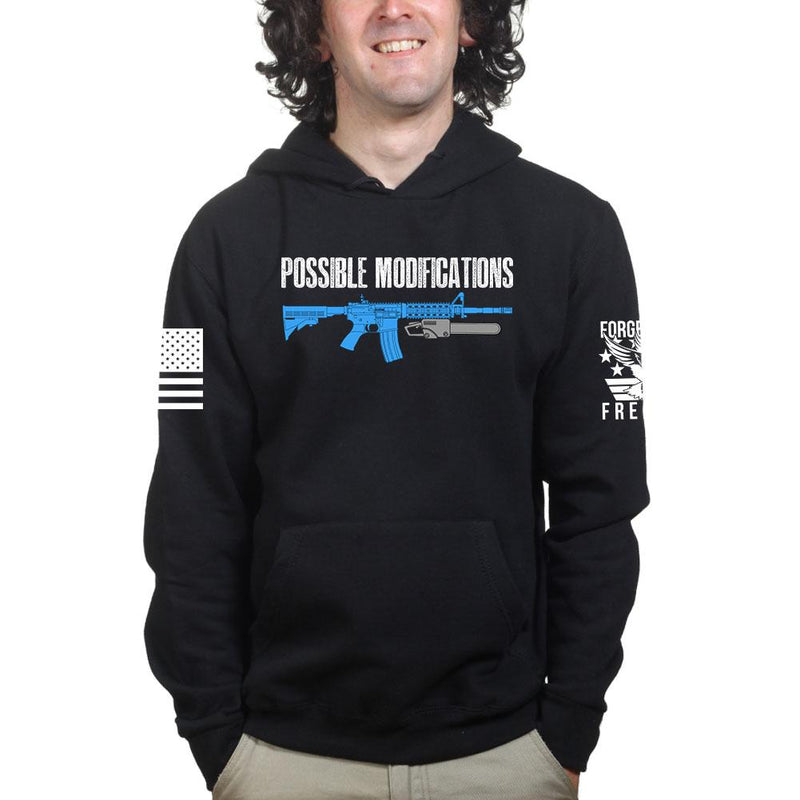 Possible Modifications AR Chainsaw Hoodie