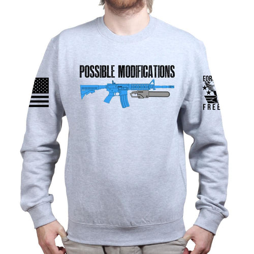 Possible Modifications AR Chainsaw Sweatshirt