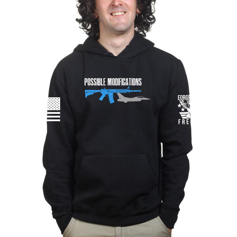 Possible Modifications AR F16 Hoodie