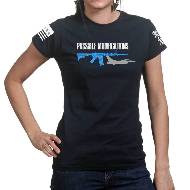 Possible Modifications AR F16 Ladies T-shirt