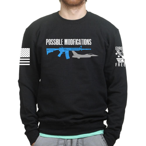 Possible Modifications AR F16 Sweatshirt