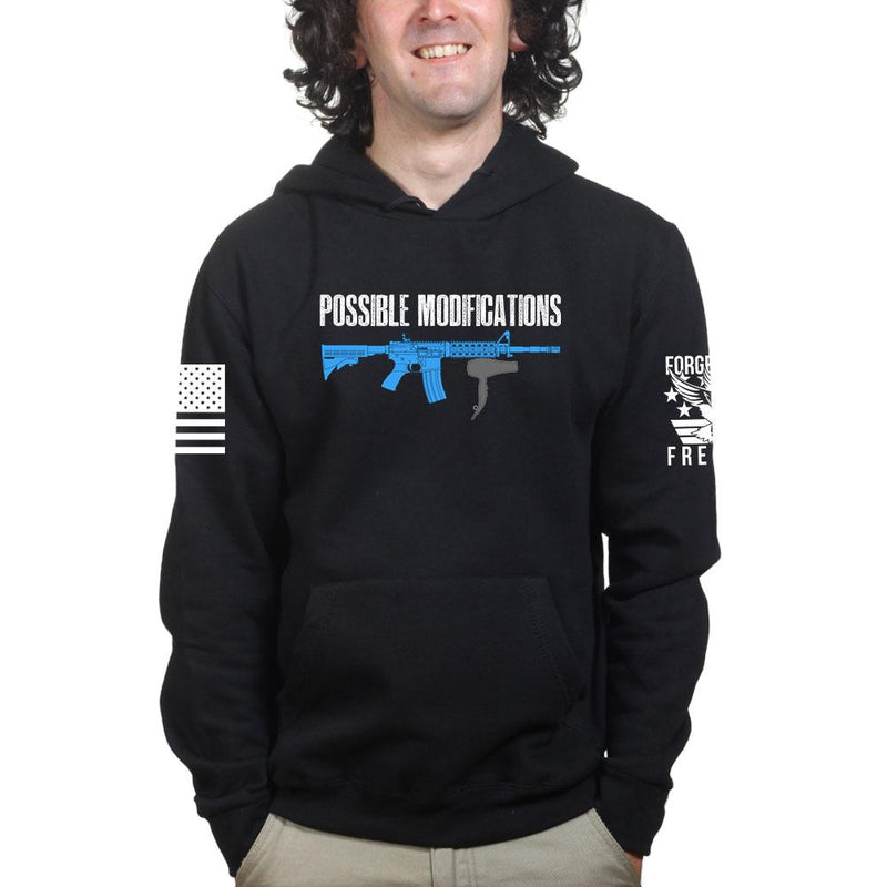 Possible Modifications AR Hair Dryer Hoodie