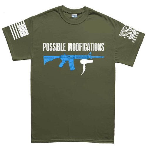 Possible Modifications AR Hair Dryer Men's T-shirt
