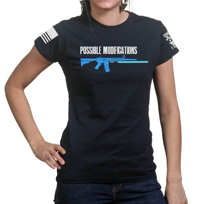 Possible Modifications AR Lightsaber Ladies T-shirt