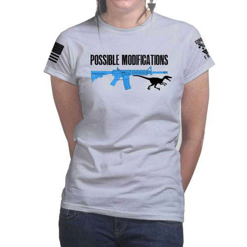 Possible Modifications AR Velociraptor Ladies T-shirt