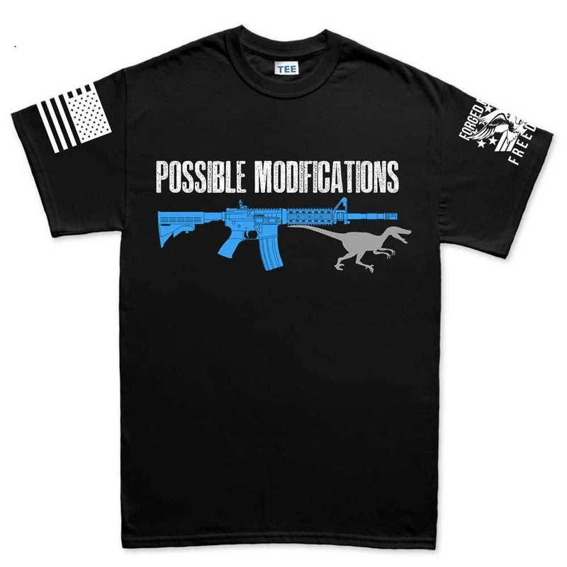 Possible Modifications AR Velociraptor Men's T-shirt