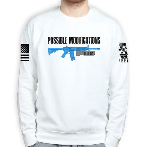Possible Modifications Little Boy A Bomb Sweatshirt