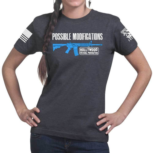 Possible Modifications Hollywood Predator Ladies T-shirt