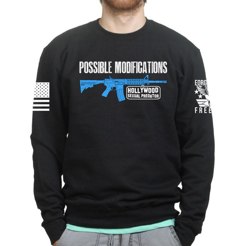 Possible Modifications Hollywood Predator Sweatshirt