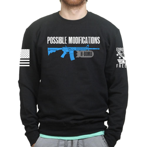 Possible Modifications AR H Bomb Sweatshirt