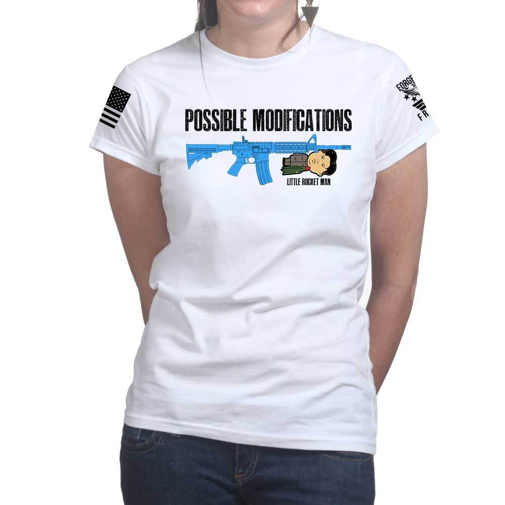 5fa89d14 Possible Modifications Kim Jong Un Ladies T-shirt – Forged From Freedom