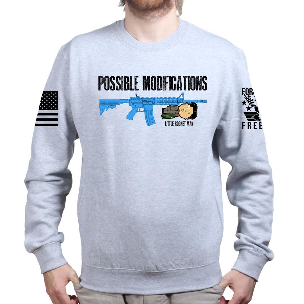 c920af15 Possible Modifications Kim Jong Un Sweatshirt – Forged From Freedom