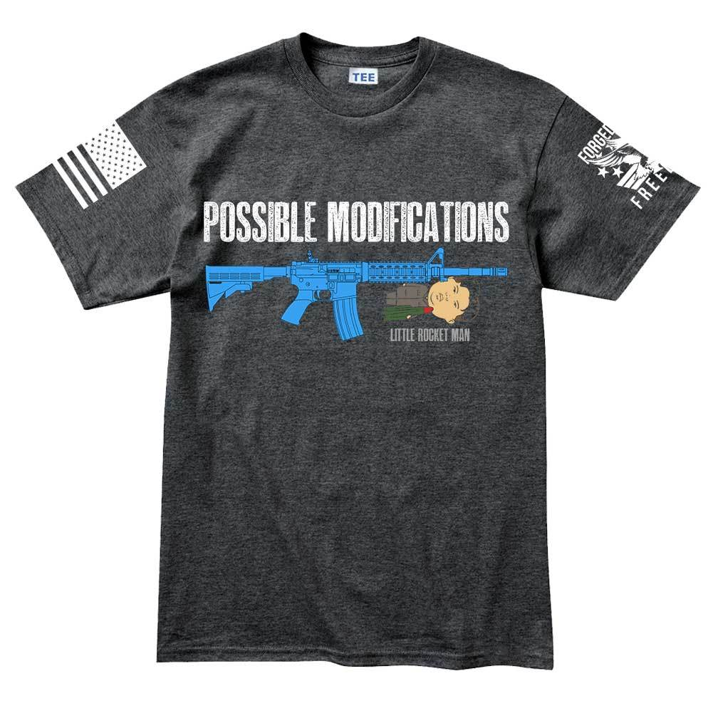 10a69b8b Possible Modifications Kim Jong Un Men's T-shirt – Forged From Freedom