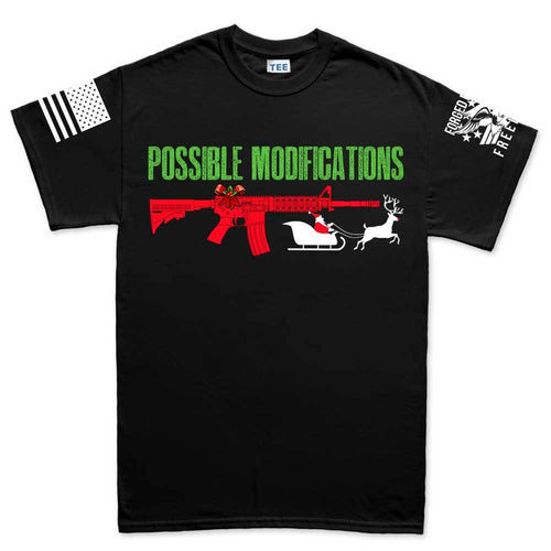 AR-15 Possible Modifications - Santa Men's T-shirt