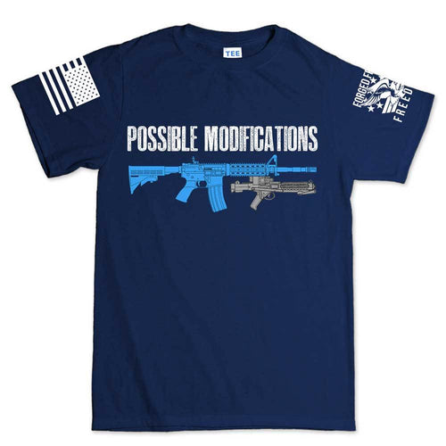 Possible Modifications Trooper Blaster Men's T-shirt