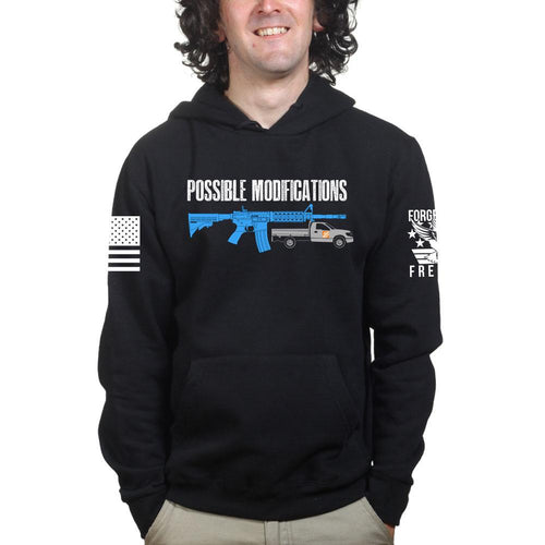 Possible Modifications Rental Truck Hoodie