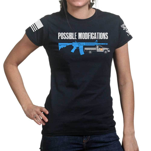 Possible Modifications Rental Truck Ladies T-shirt