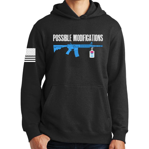 Possible Modifications Sanitizer Hoodie