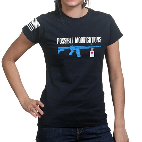 Ladies Possible Modifications Sanitizer T-shirt