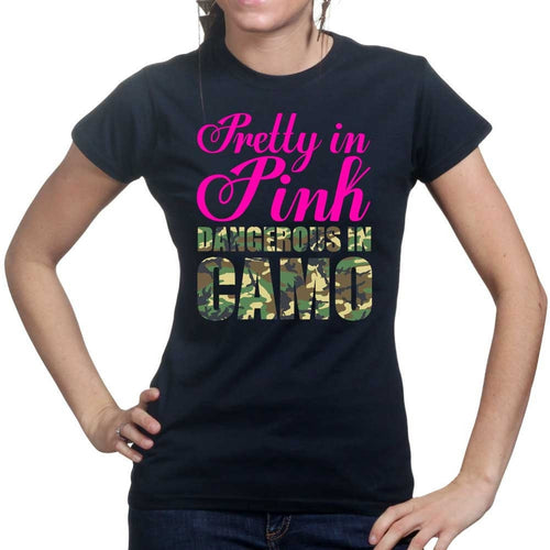 Pretty in Pink Ladies T-shirt