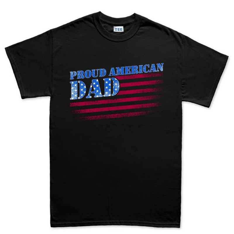 Proud American Dad Men's T-shirt