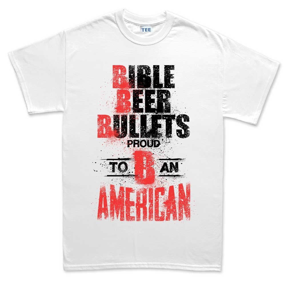 6c81dbc4 Men's Bible, Beer & Bullets T-shirt – Forged From Freedom