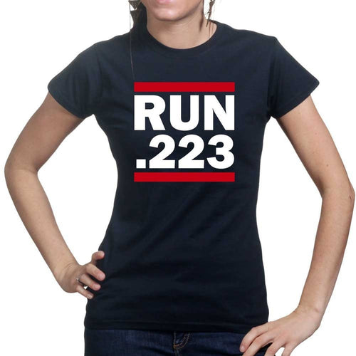 Run .223 Ladies T-shirt