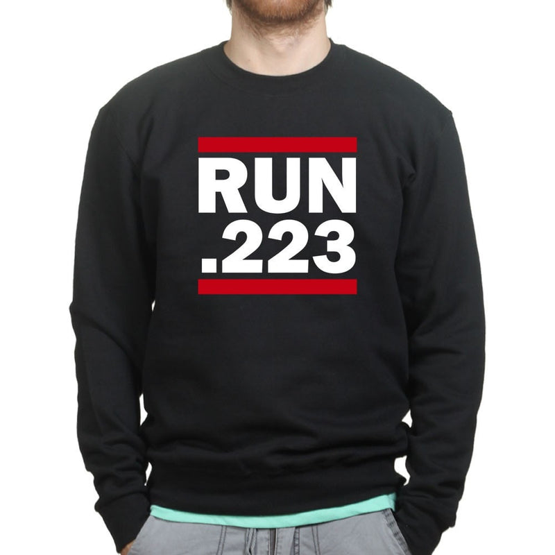 Run .223 Sweatshirt